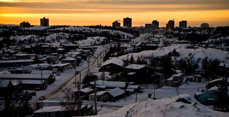 Yellowknife, Northwest Territories, Canada (c) 2008 Anthony Speca