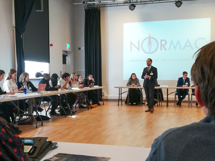 20180225 NORMAC 2018 Ministerial in Norwich, UK
