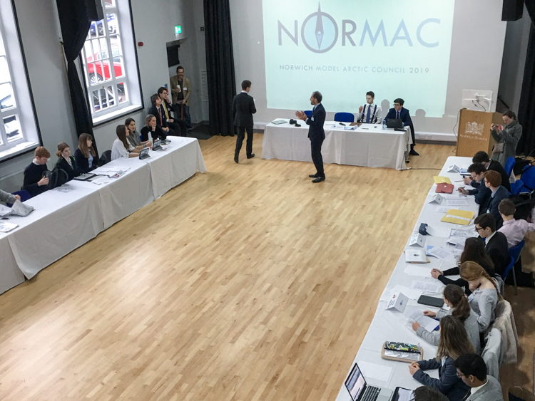 20190302 NORMAC 2019 SAO Meeting at Norwich School in Norwich, UK
