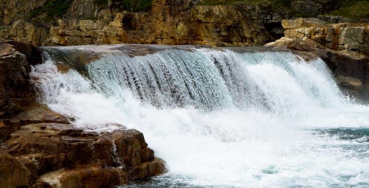 Livingstone Falls, Nunavut, Canada (c) 2008 Anthony Speca
